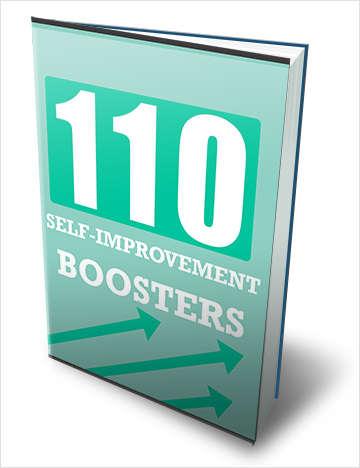 110 Self Improvement Boosters!