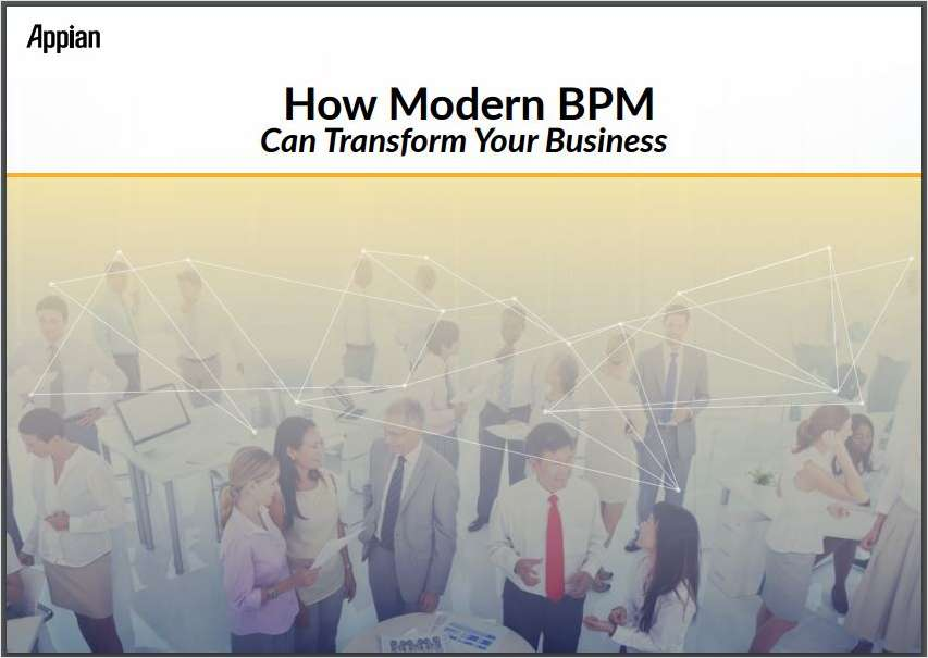 How Modern BPM Can Transform Your Business