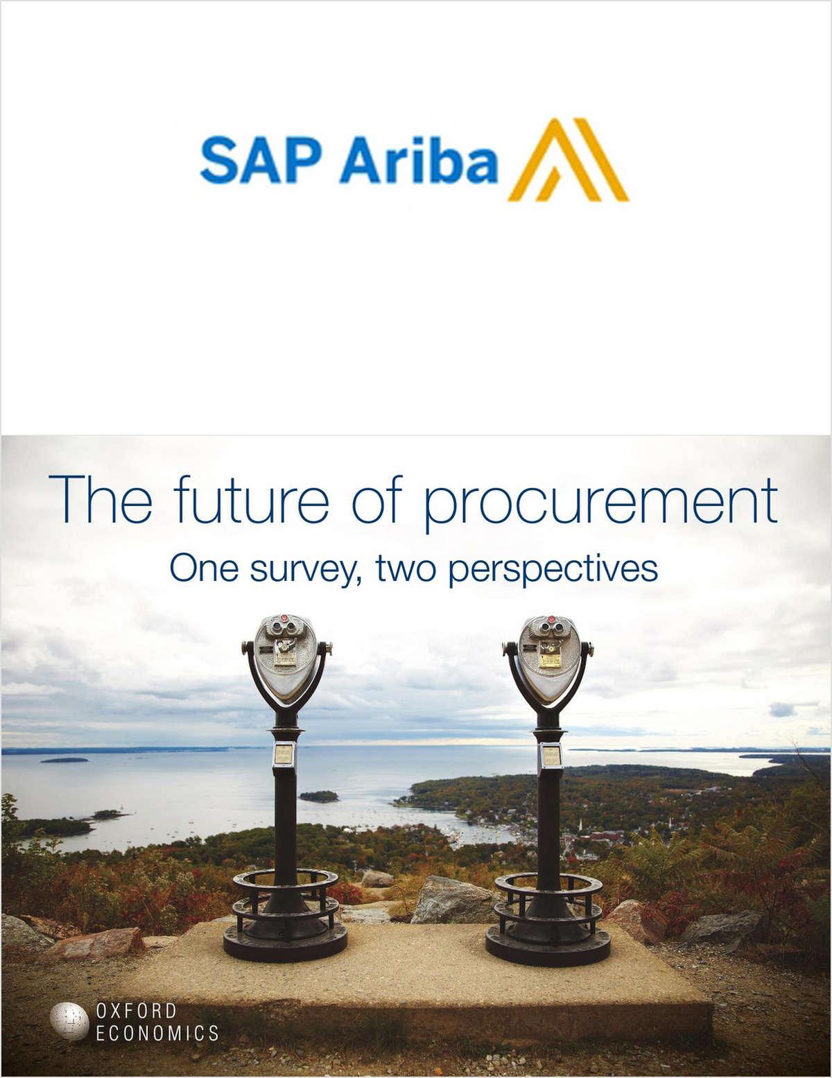 The Future of Procurement