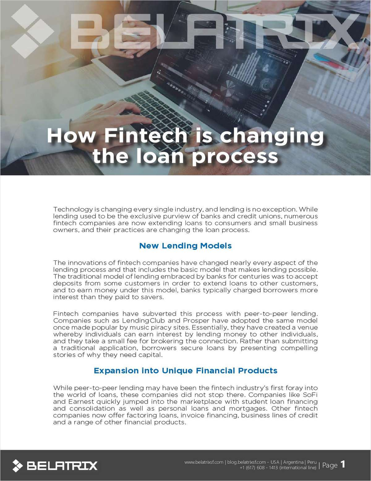 How Fintech is Changing the Loan Process