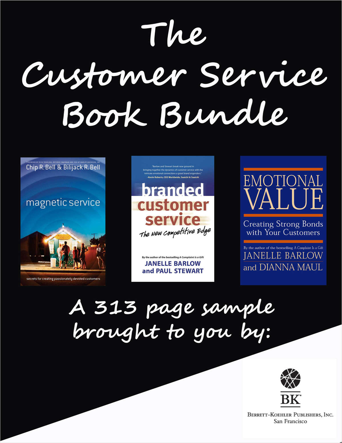 The Customer Service Book Bundle -- A 313 Page Sample from Berrett-Koehler