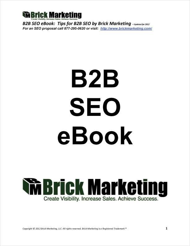 B2B SEO eBook: Tips for B2B SEO