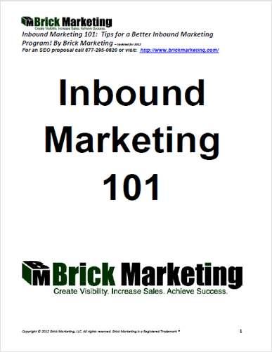 Inbound Marketing 101: Tips for a Better Inbound Marketing Program!
