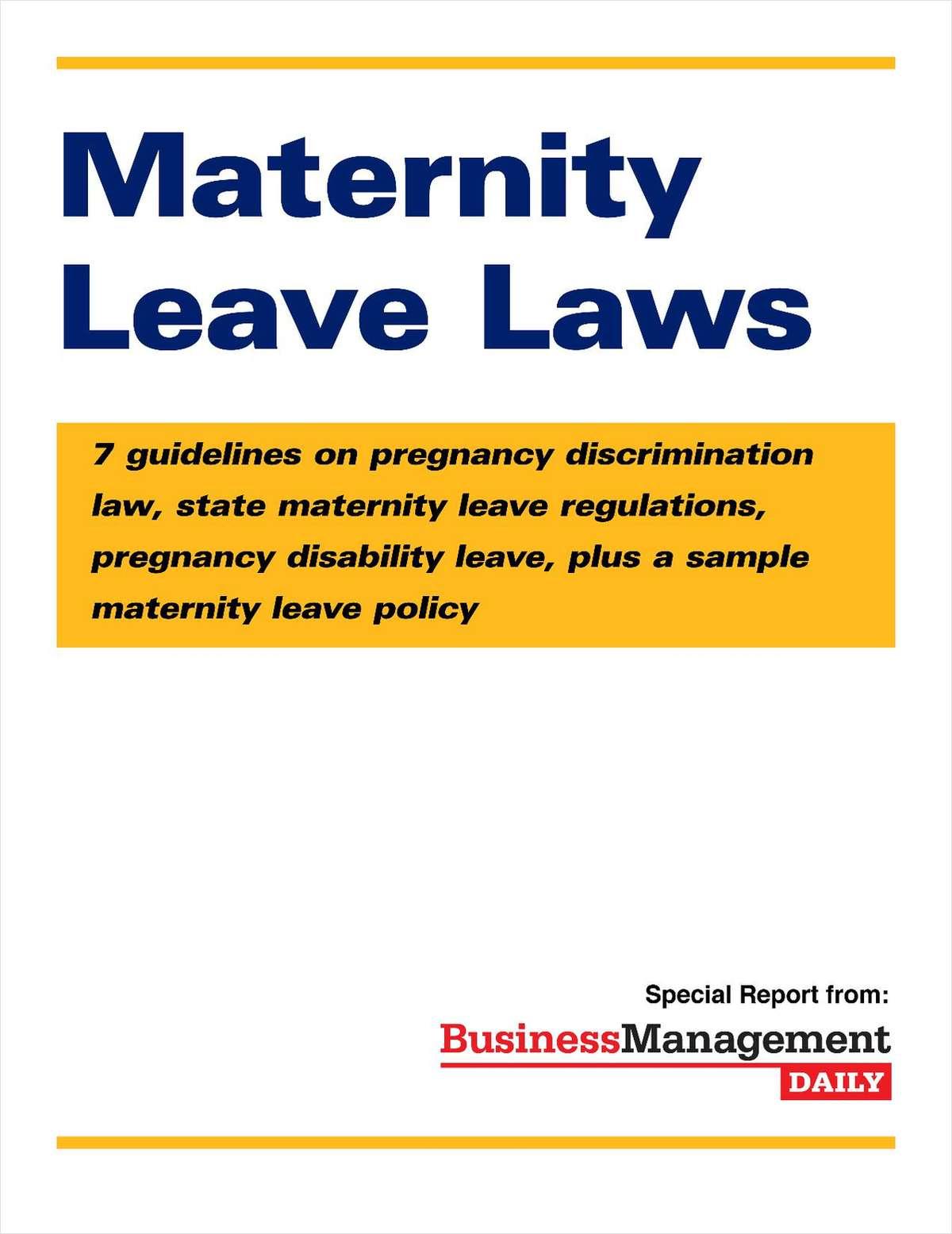 google new maternity policy essay