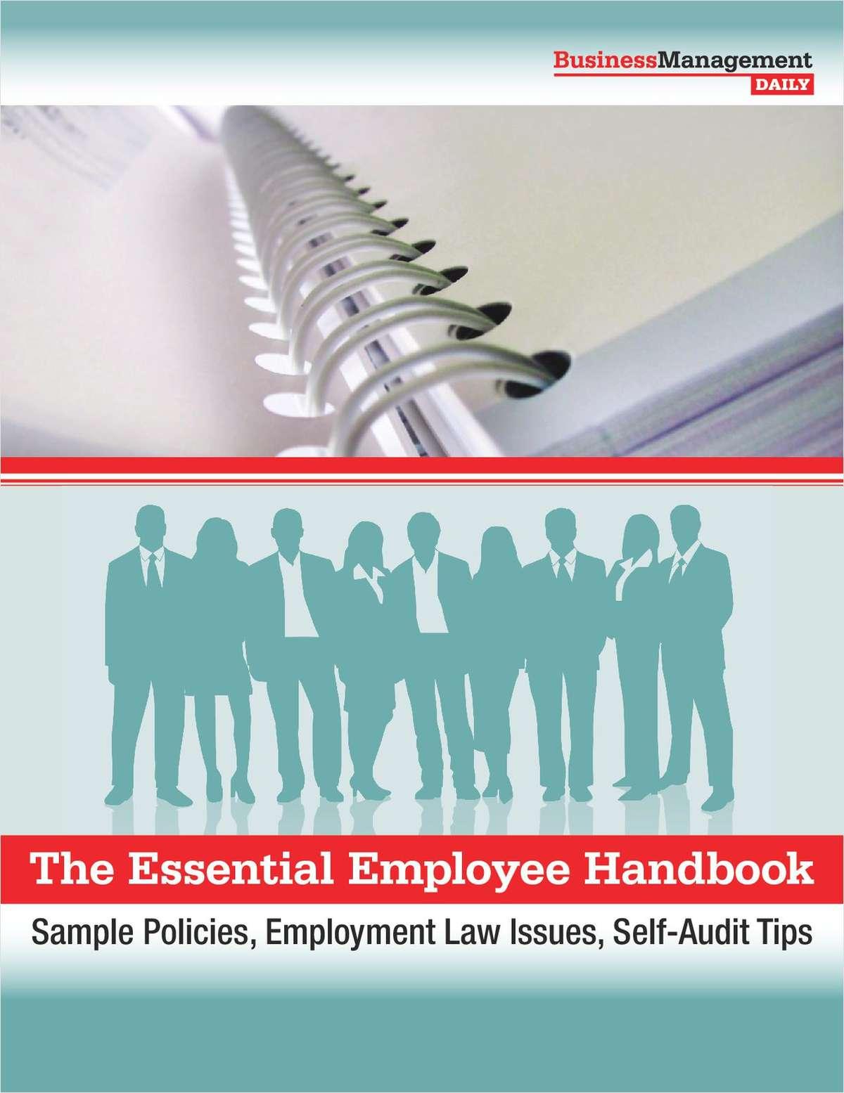 The Essential Employee Handbook