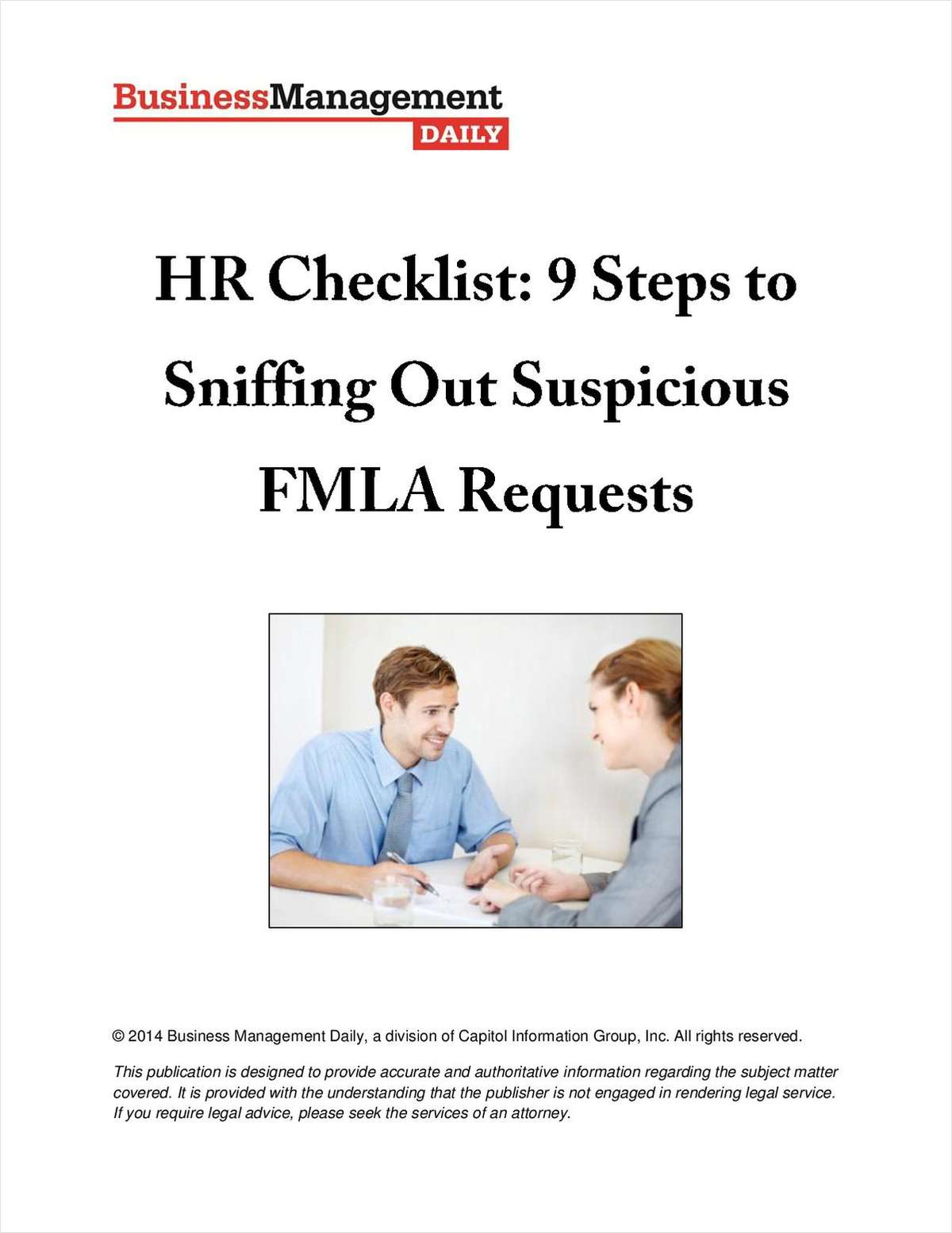 HR Checklist: 9 Steps to Sniffing Out Suspicious FMLA Requests