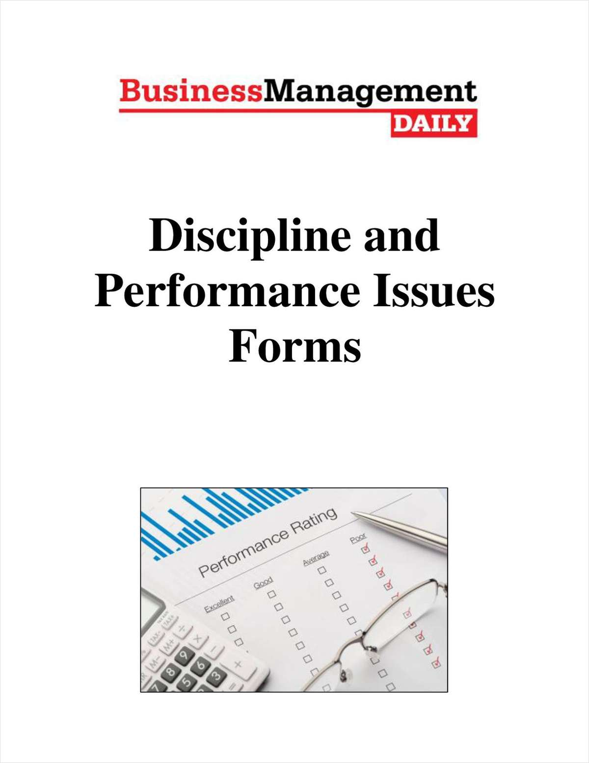Discipline and Performance Issues Forms