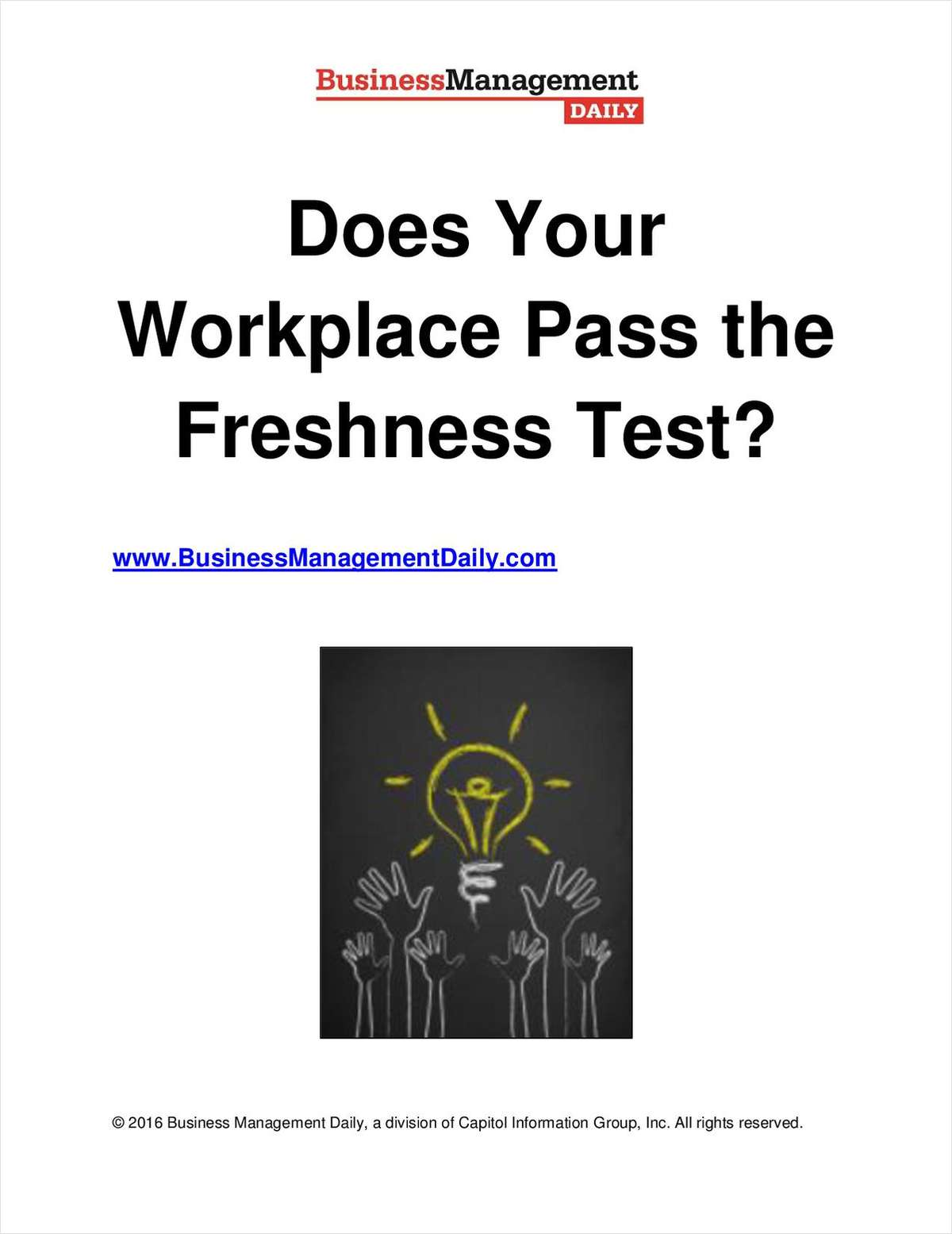 Does Your Workplace Pass the Freshness Test?
