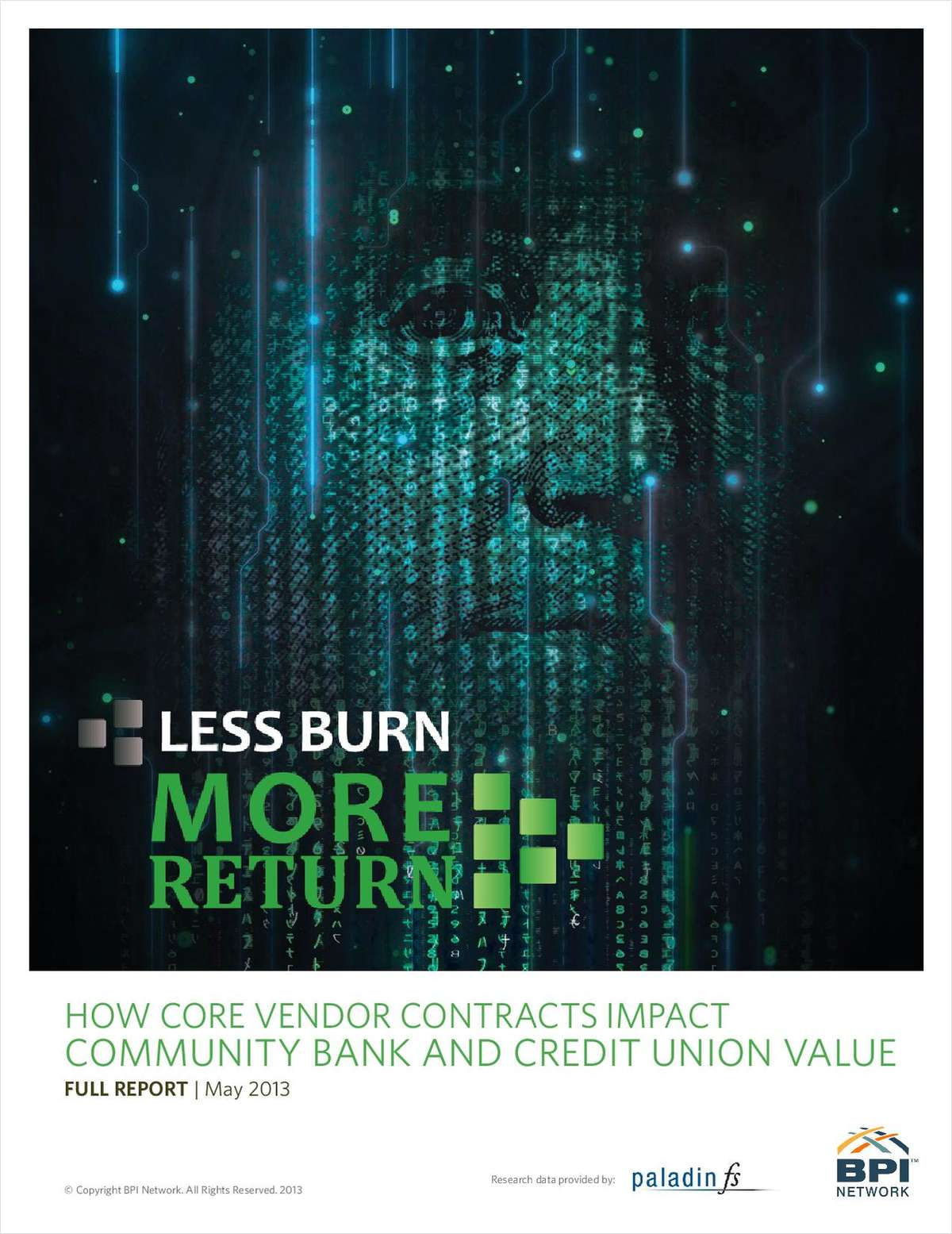 Less Burn. More Return - How Core Vendor Contracts Impact Community Bank and Credit Union Value