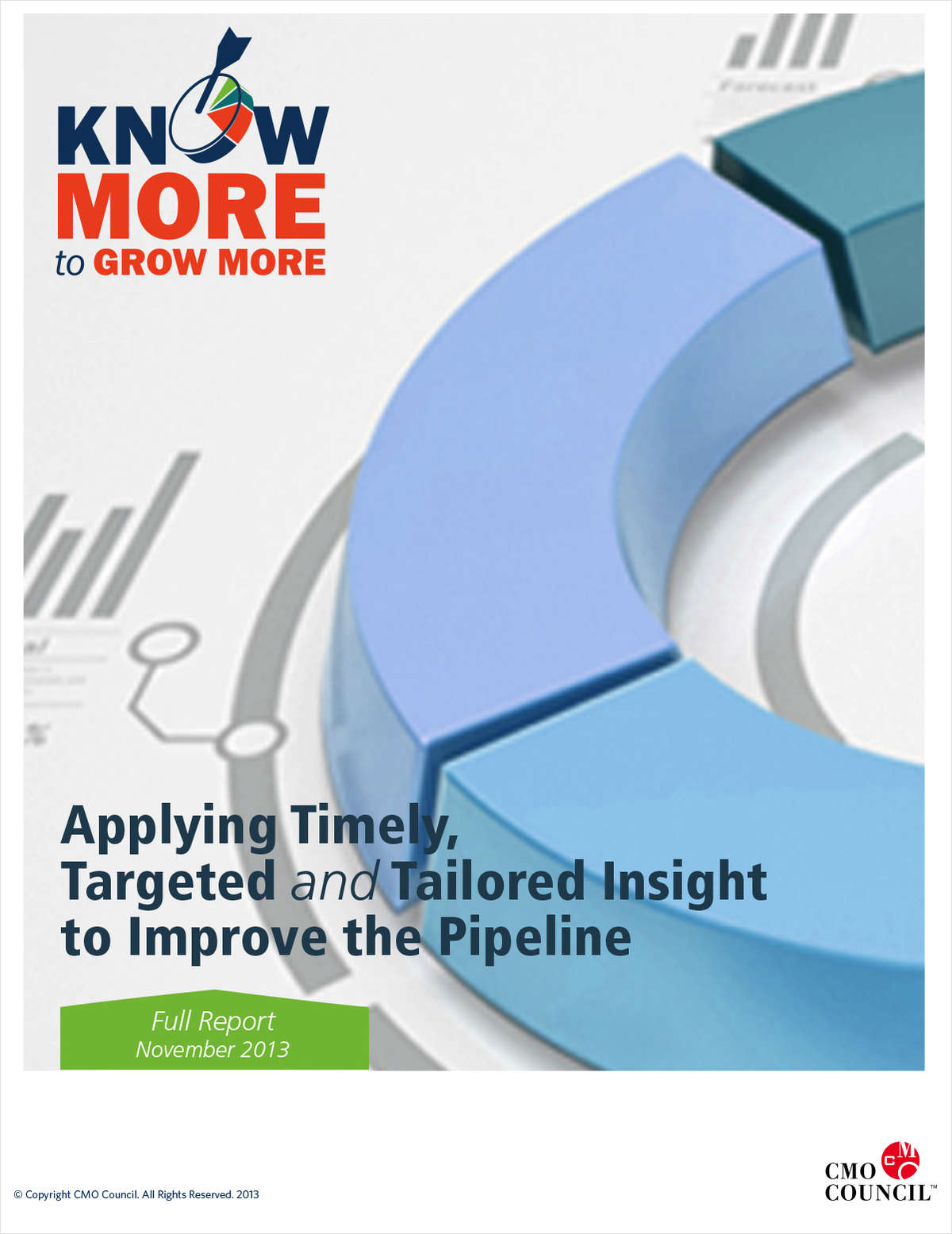 Applying Timely, Targeted and Tailored Insight to Improve Pipeline Performance