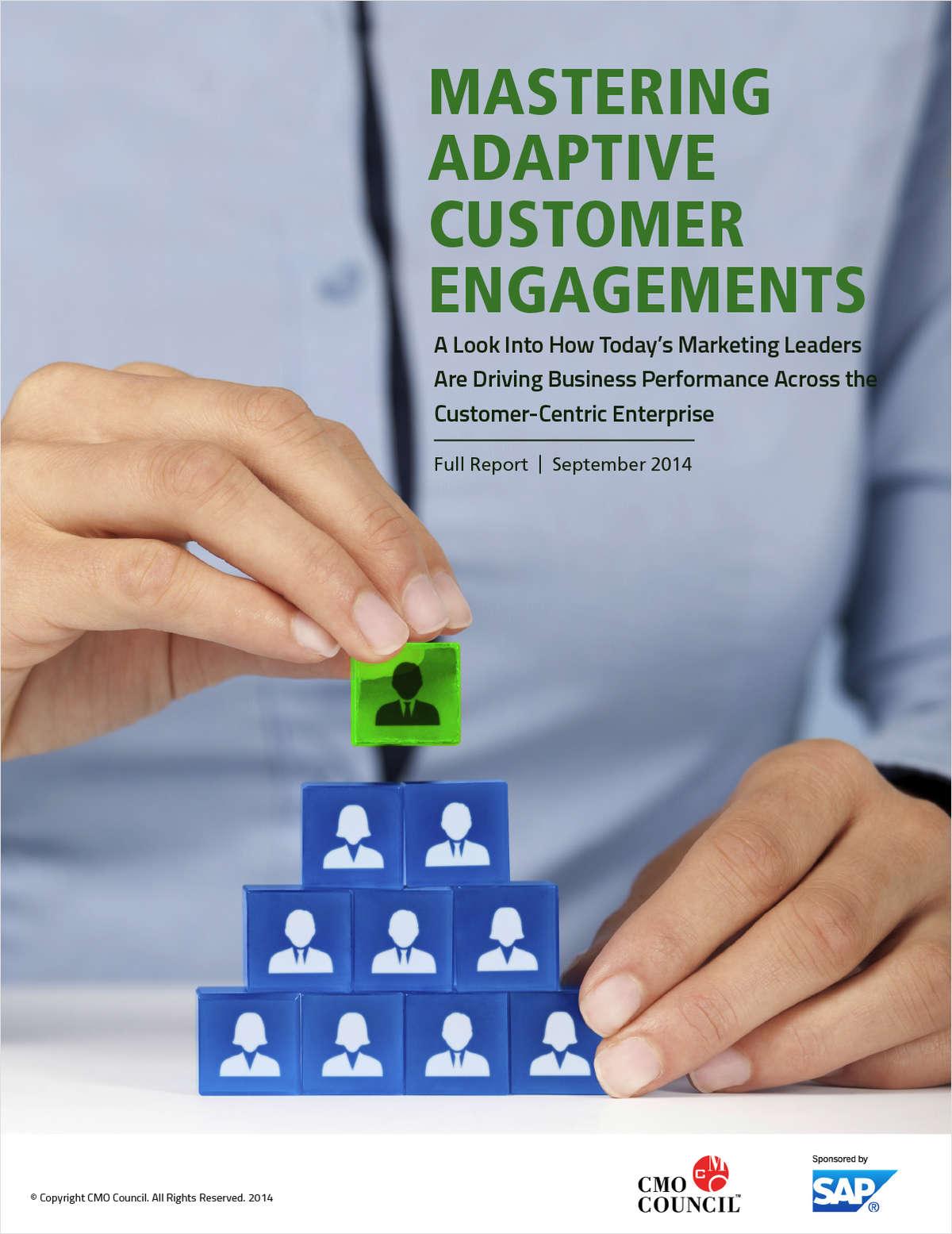 Mastering Adaptive Customer Engagements