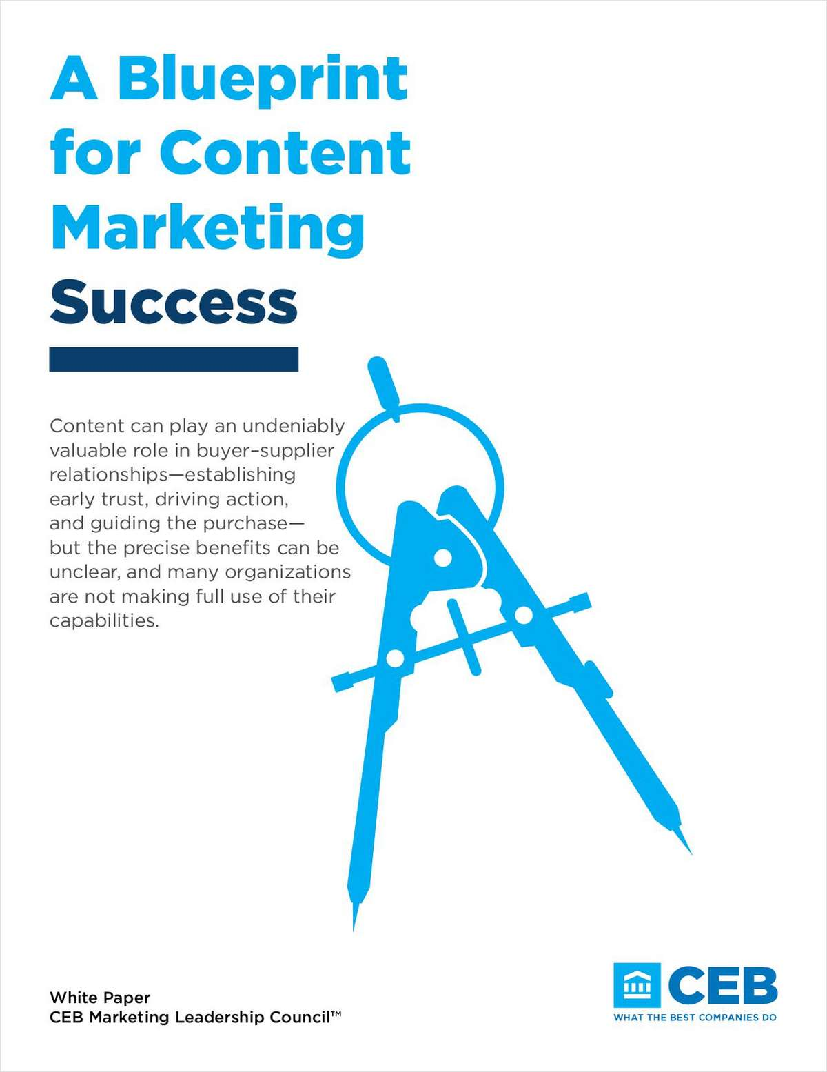 A Blueprint for Content Marketing Success