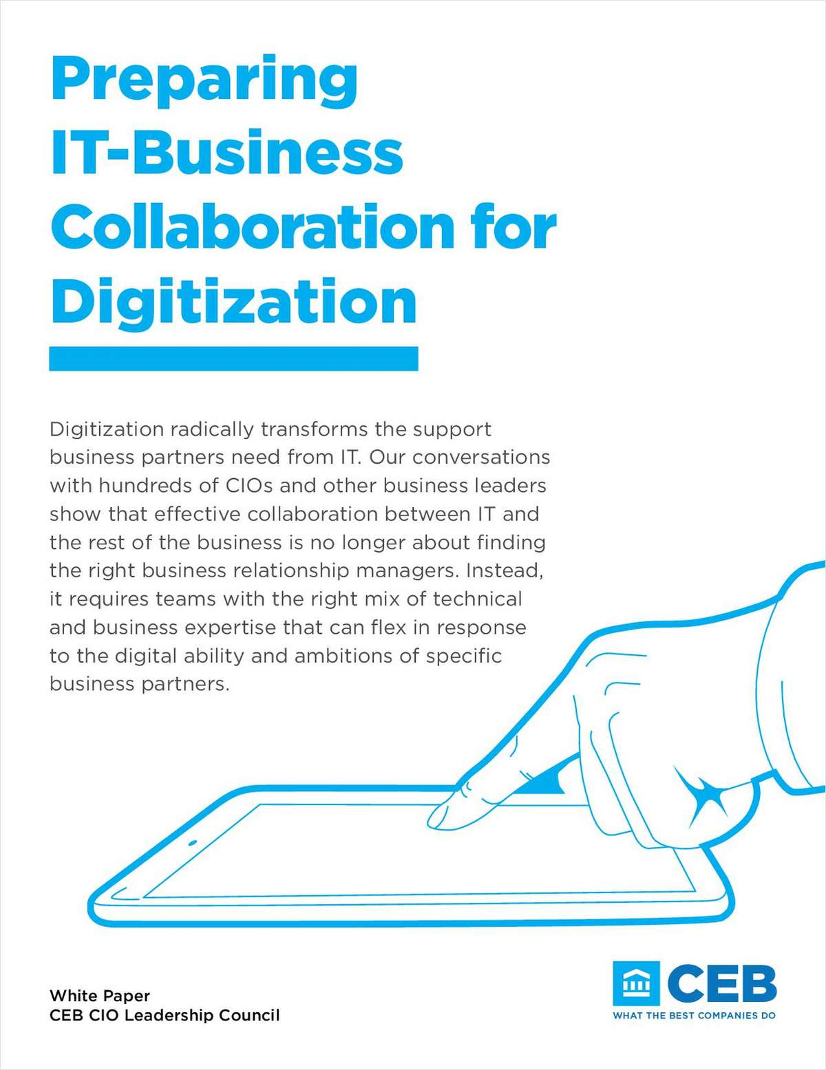Preparing IT-Business Collaboration for Digitization