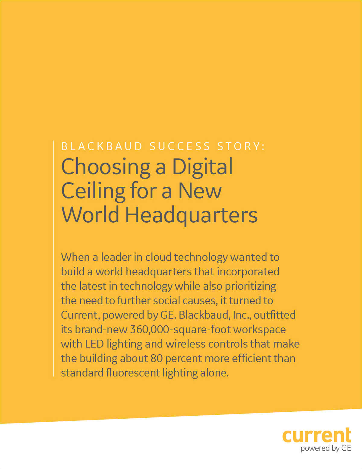Blackbaud Success Story