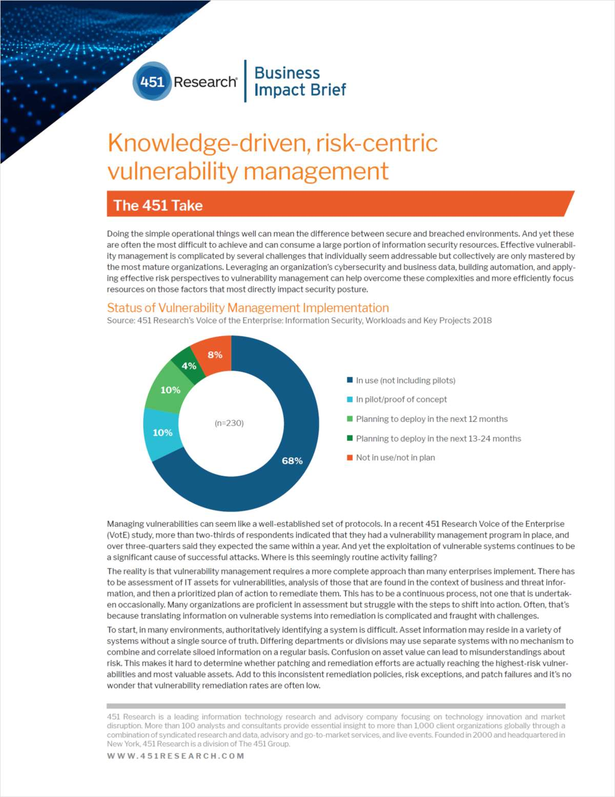 Knowledge-Driven, Risk-Centric Vulnerability Management, Free