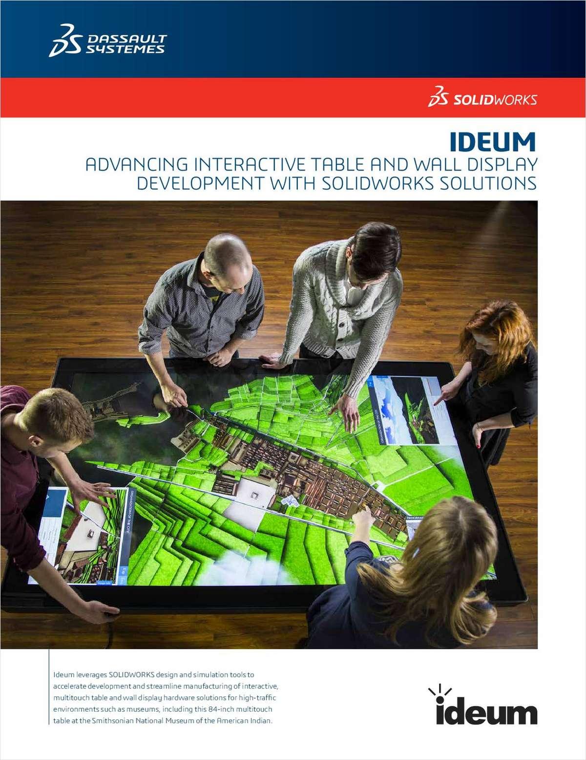 Ideum Case Study: Advancing Interactive Display