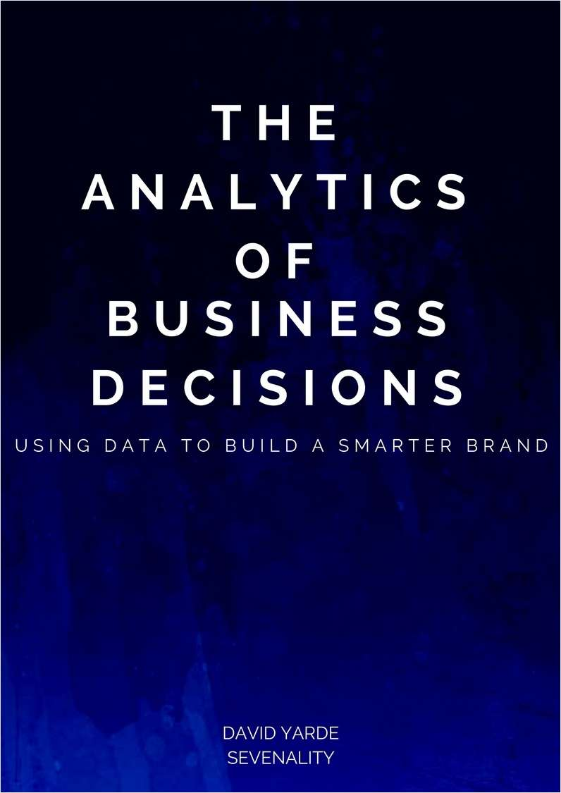 The Analytics of Business Decisions
