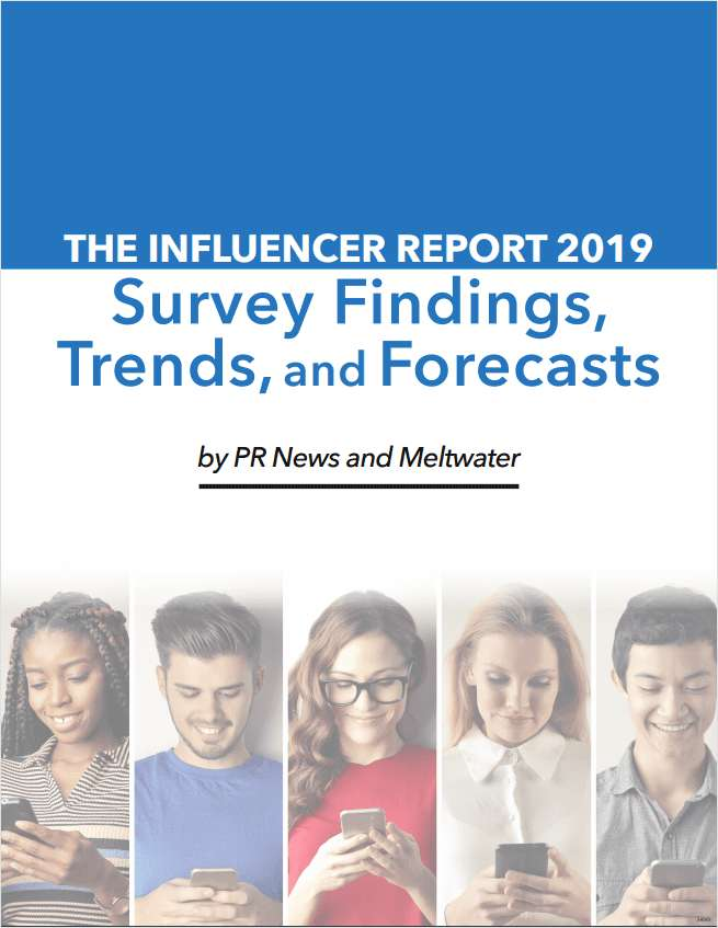 The Influencer Report: Survey Findings, Trends and Forecasts