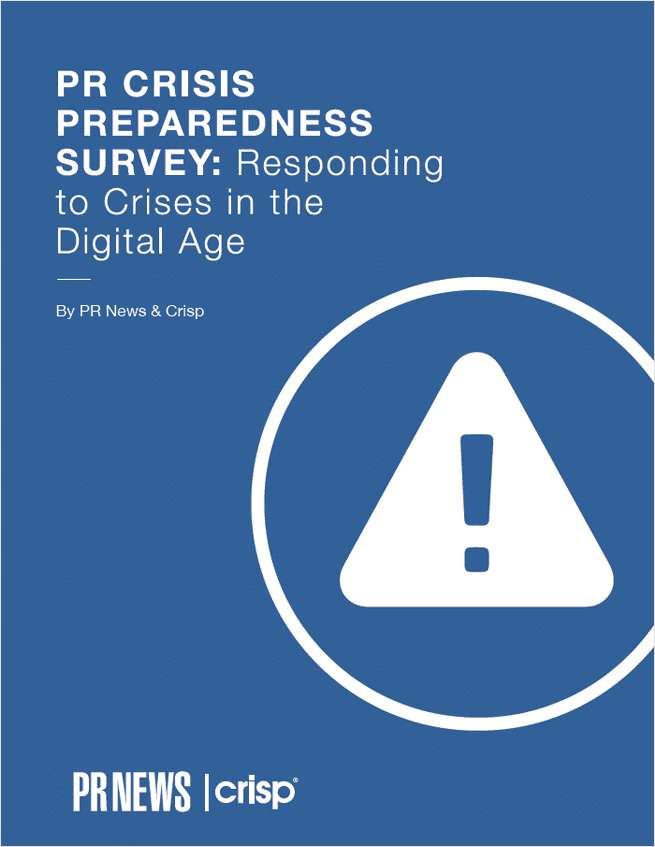 PR Crisis Preparedness Survey: Responding to Crises in the Digital Age