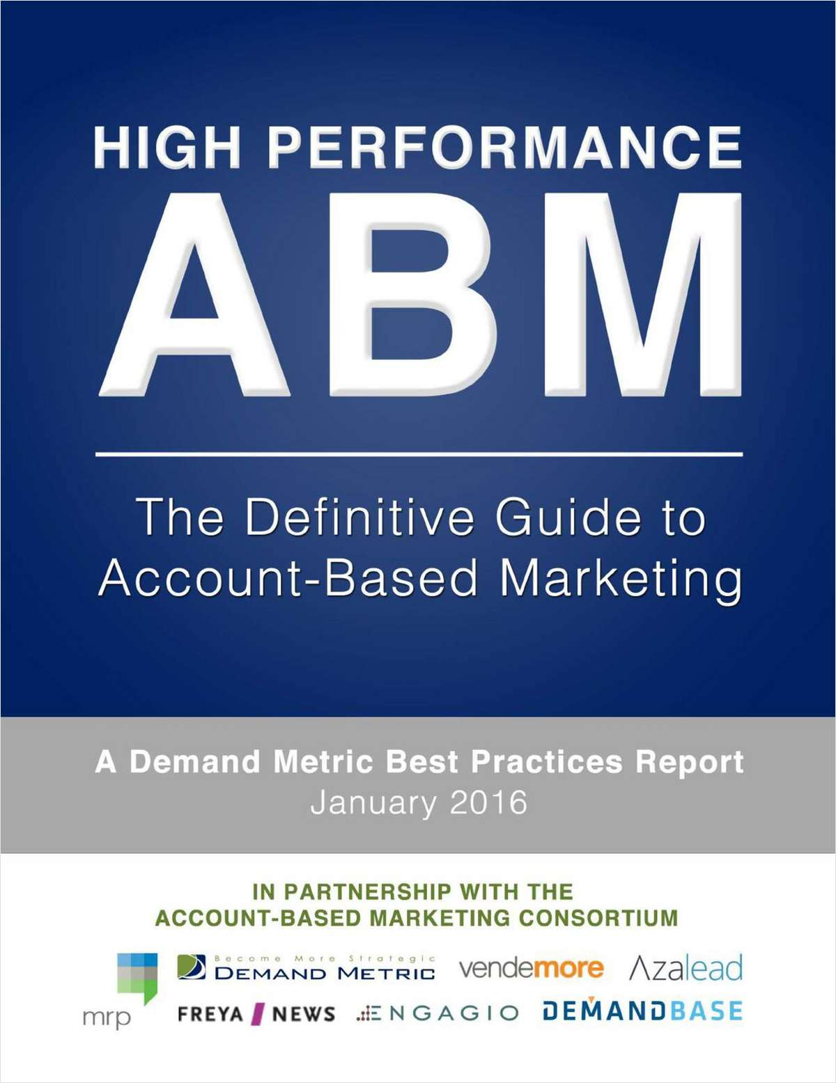 High Performance ABM: The Definitive Guide to Account-Based Marketing