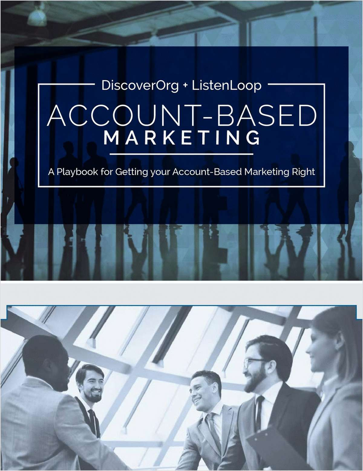 The Account-Based Marketing Playbook