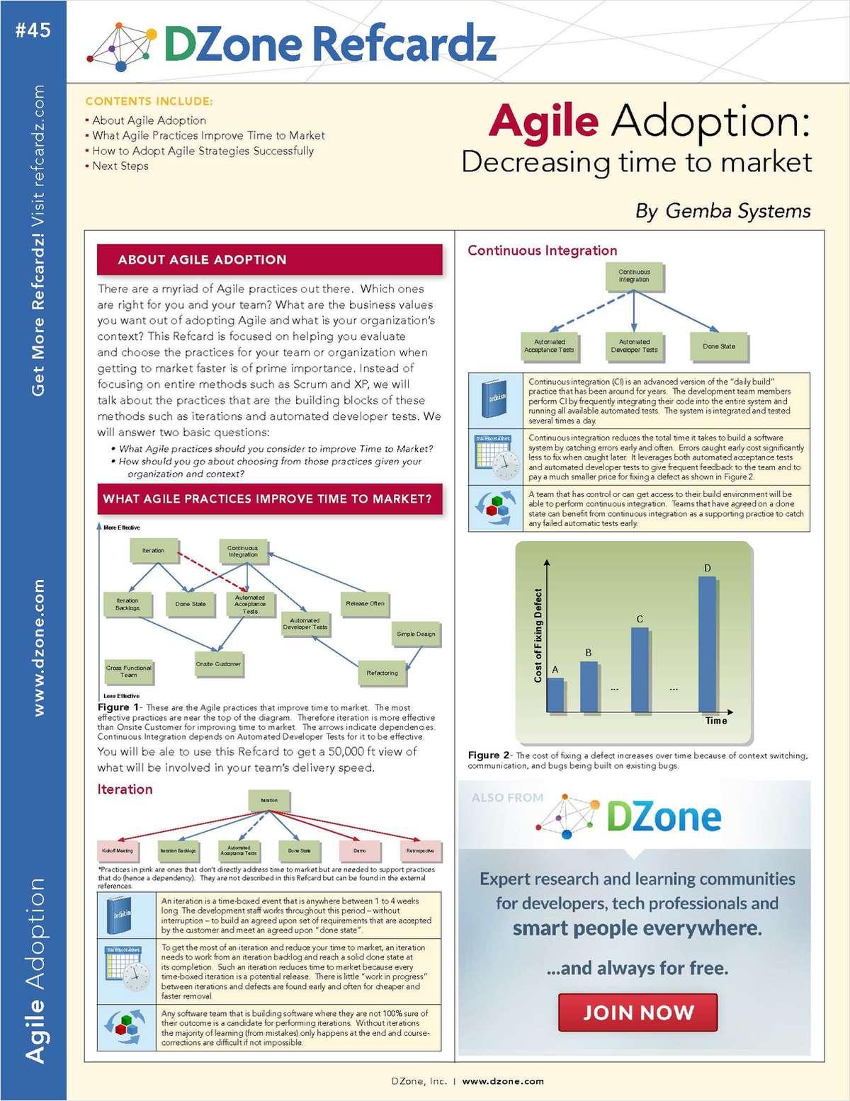 Agile Adoption: Decreasing Time to Market