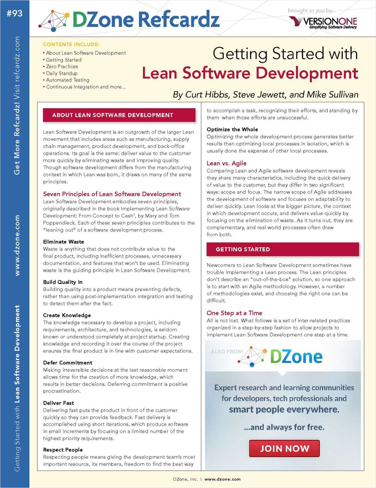 Getting Started with Lean Software Development