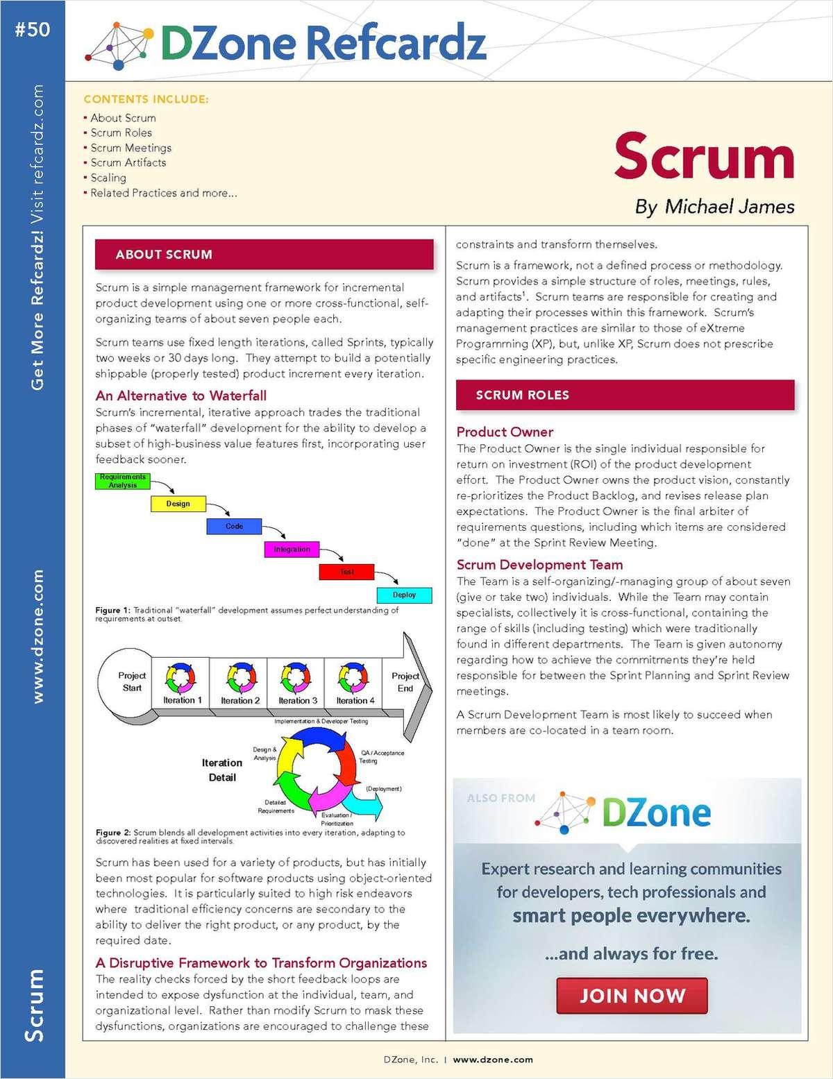 The Essential Scrum Cheat Sheet