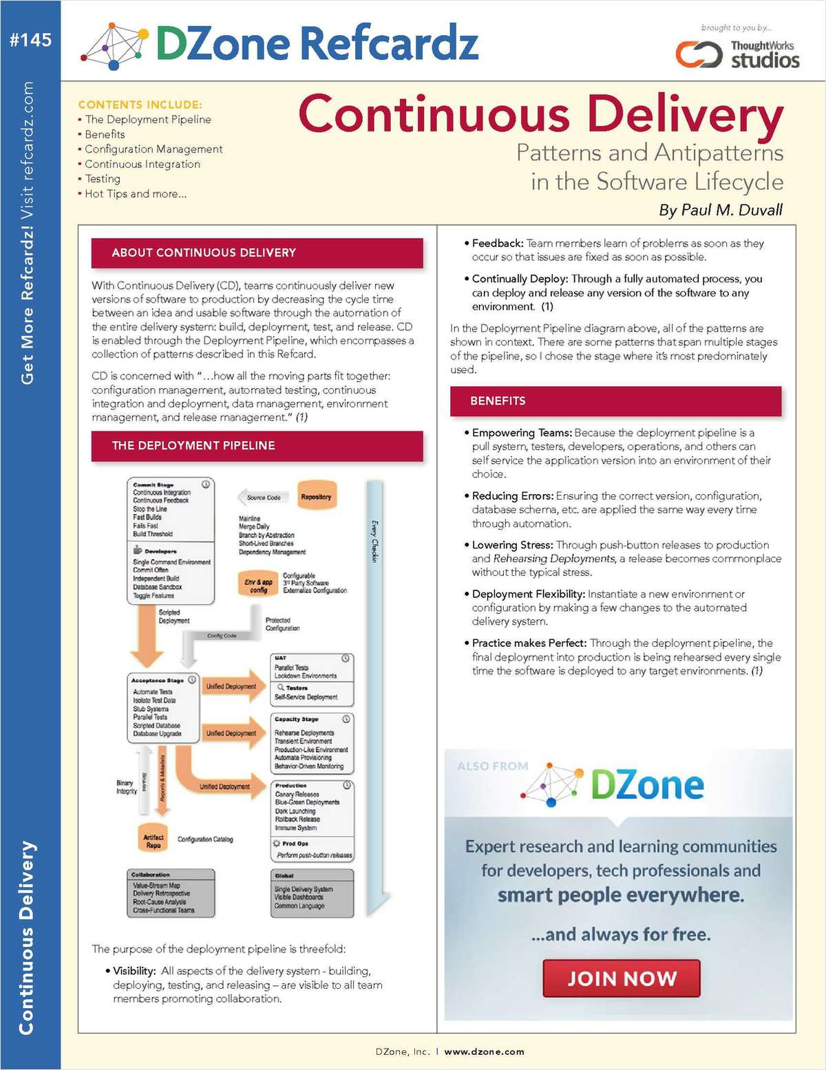 The Essential Continuous Delivery Cheat Sheet