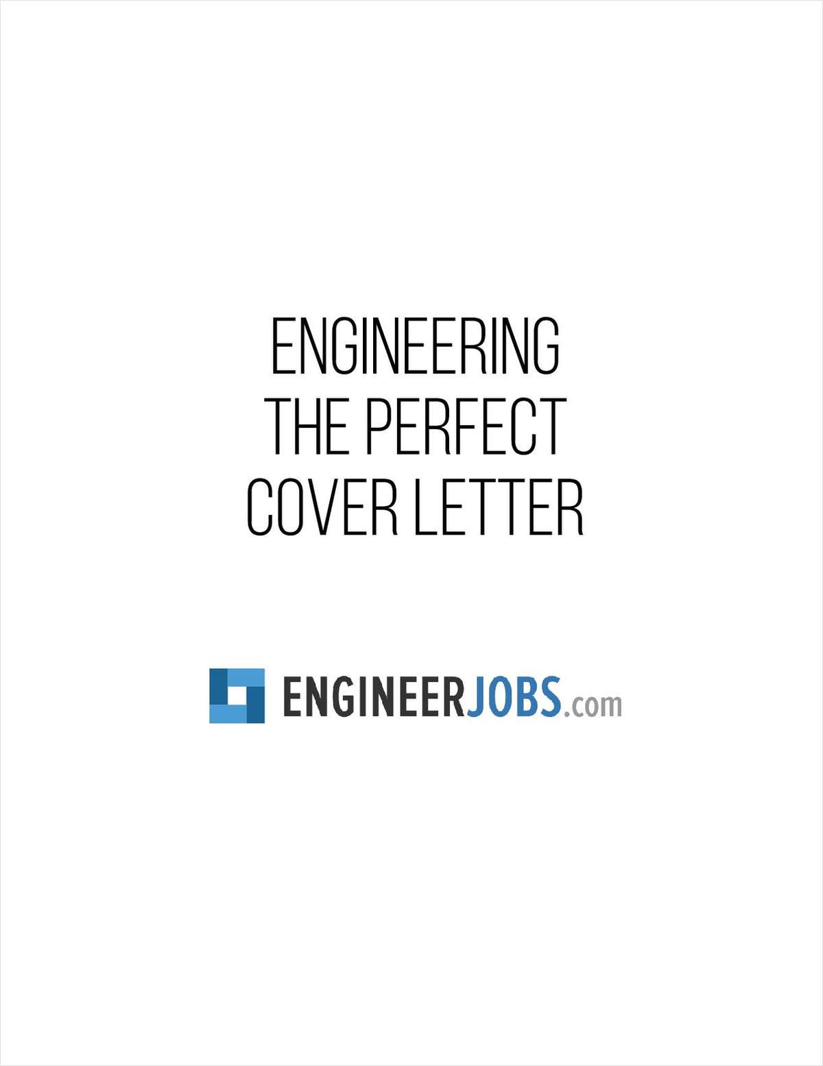 Engineering the Perfect Cover Letter