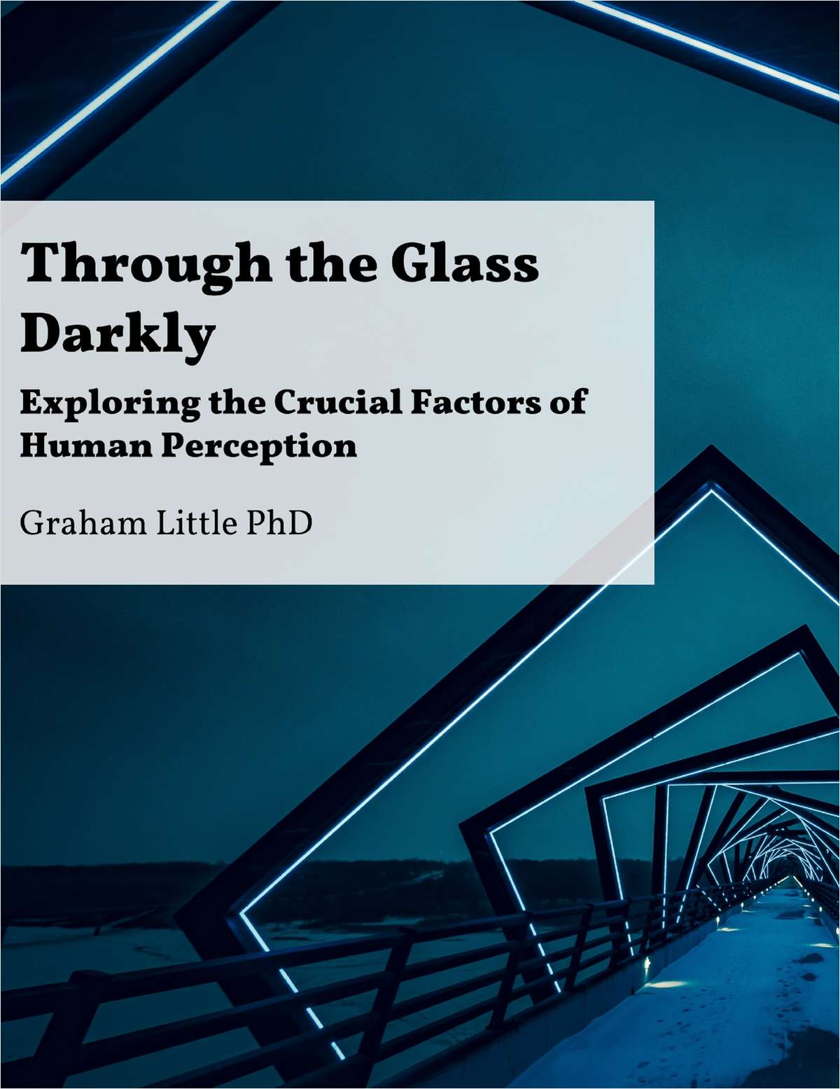 Through the glass darkly exploring the crucial factors of human through the glass darkly exploring the crucial factors of human perception free graham little report fandeluxe Images