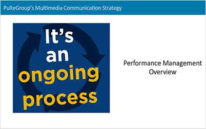 Transforming Performance Management Process: Managing Through Multi-Year Transitions