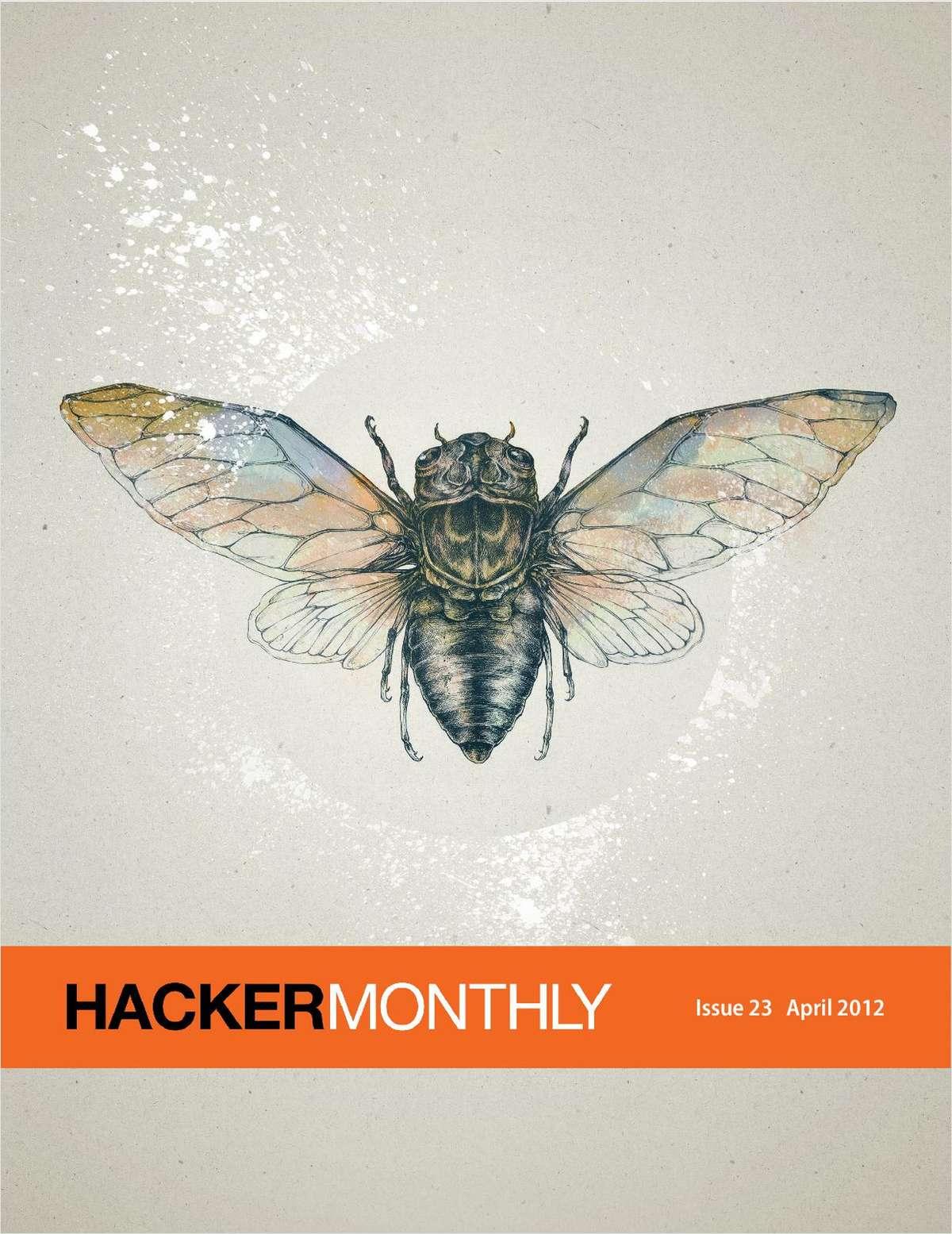 Hacker Monthly -- The Cicada Principle