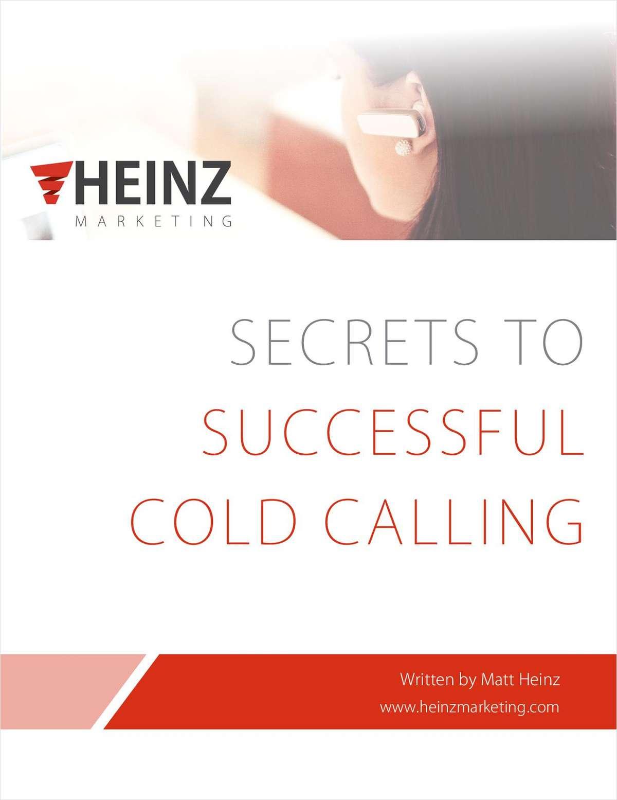 Secrets to Successful Cold Calling