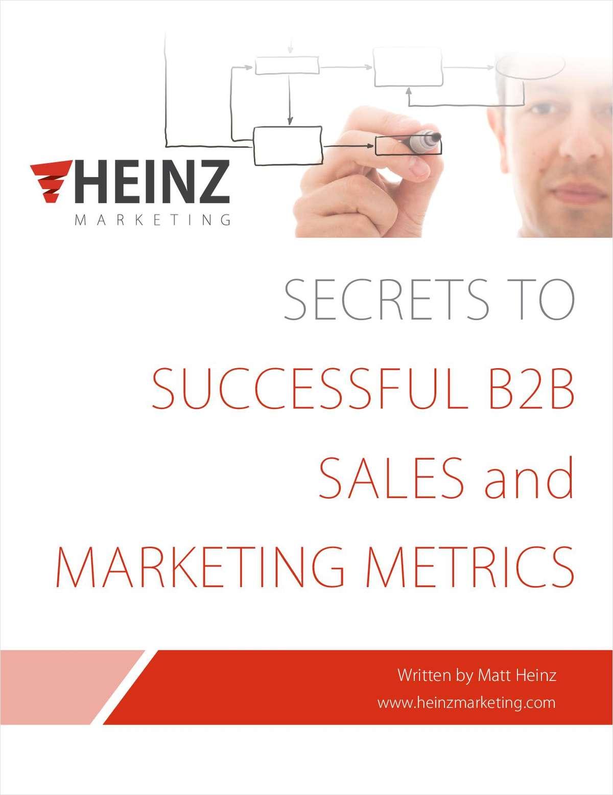 Secrets to Successful B2B Sales & Marketing Metrics