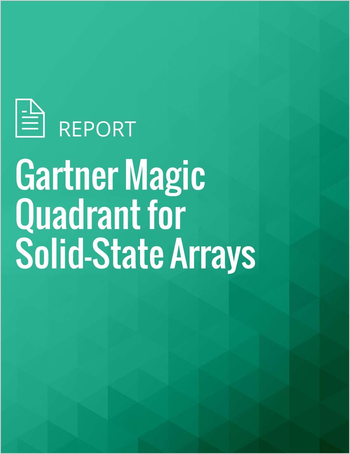 Gartner Magic Quadrant for Solid-State Arrays