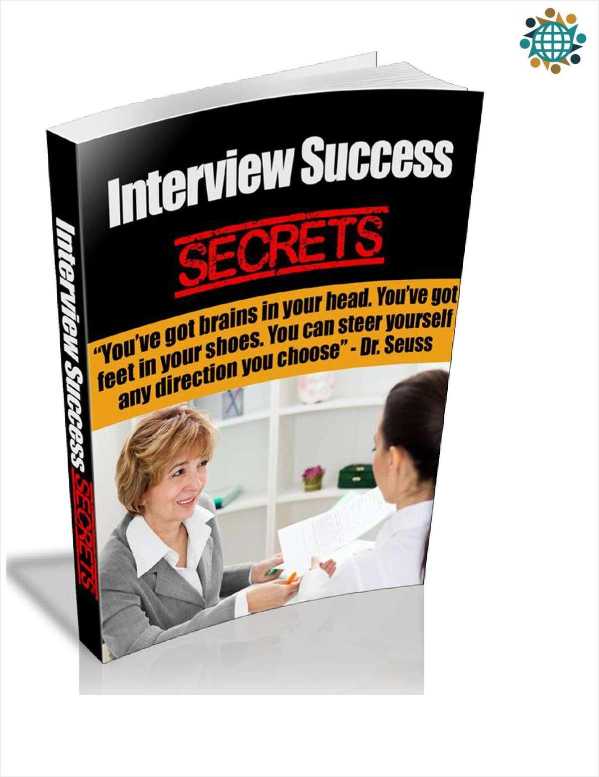 Interview Success Secrets