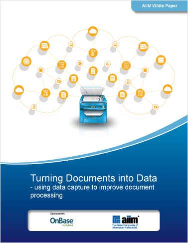 AIIM Turning Documents Into Data