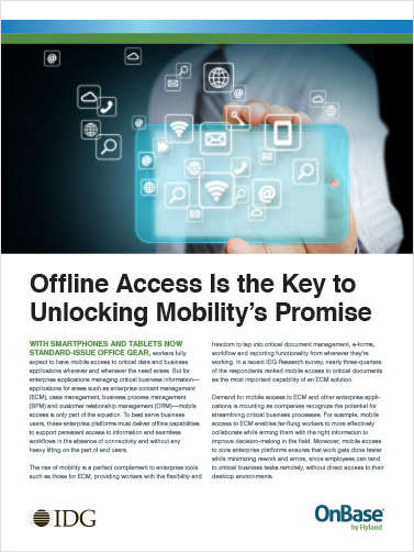 Offline Access is the Key to Unlocking Mobility's Promise