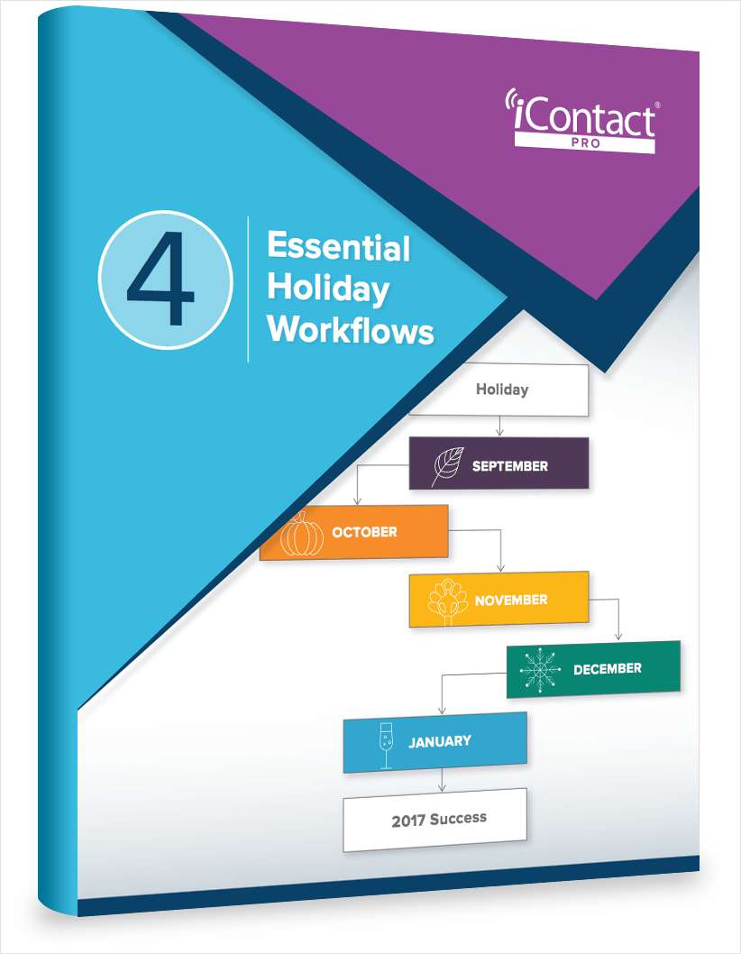 4 Essential Holiday Marketing Workflows