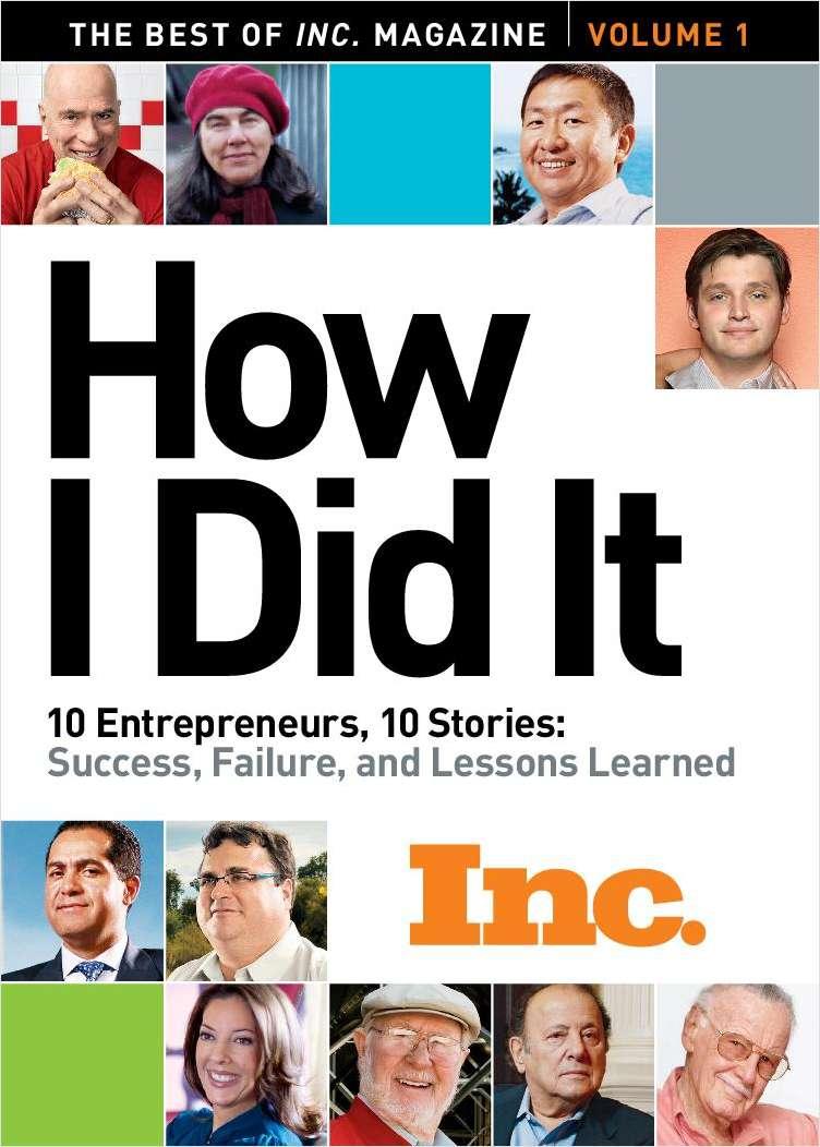 Inc. Magazine's How I Did It eBook