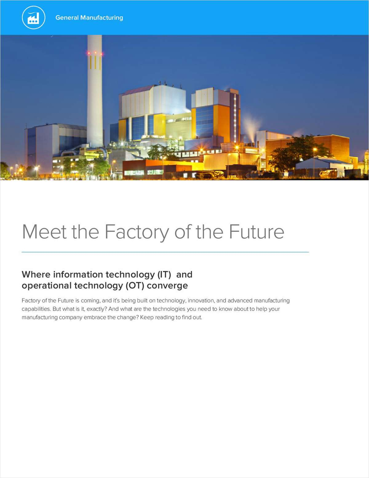 Meet the Factory of the Future