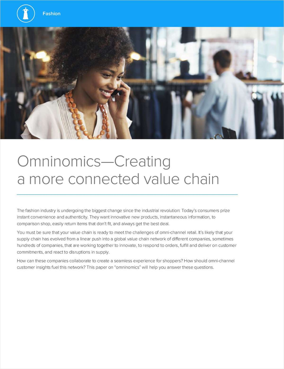 Omninomics, Creating a More Connected Value Chain