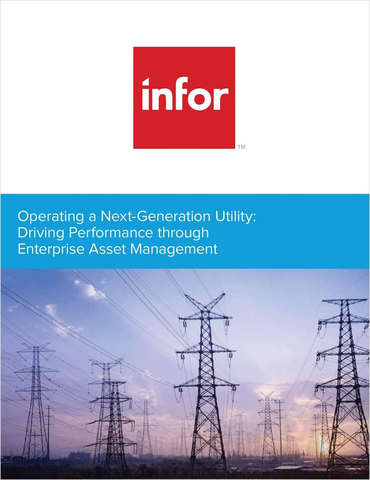 Operating a Next-Generation Utility: Driving Performance through Enterprise Asset Management