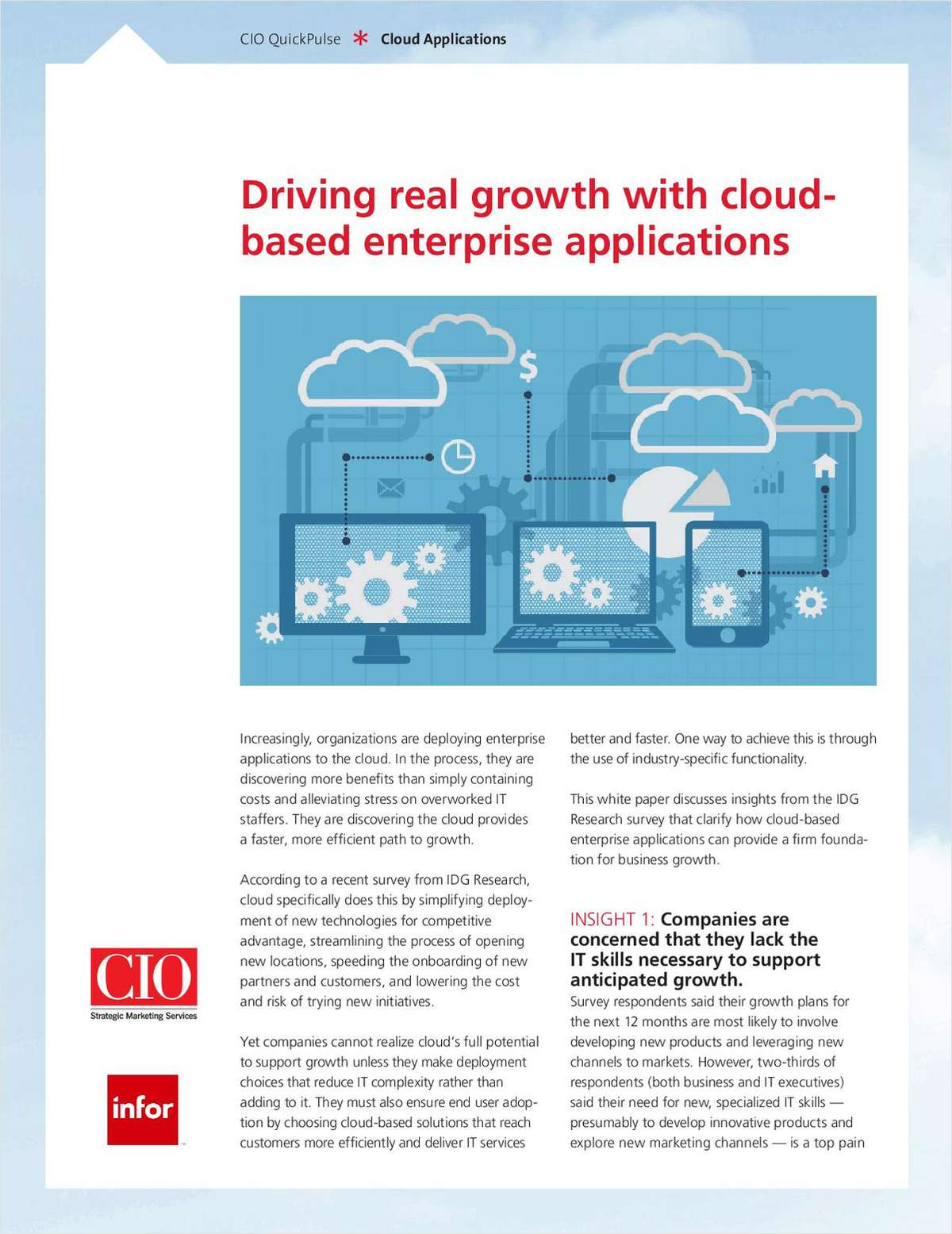 Driving Real Growth with Cloud-based Enterprise Applications