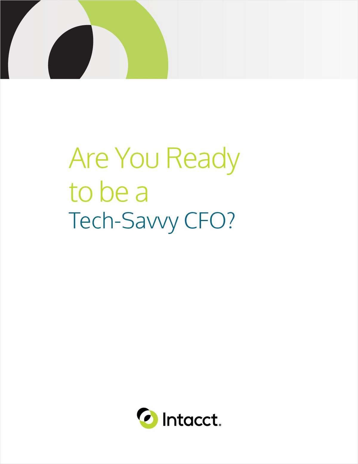Are You Ready to Be a Tech Savvy CFO?