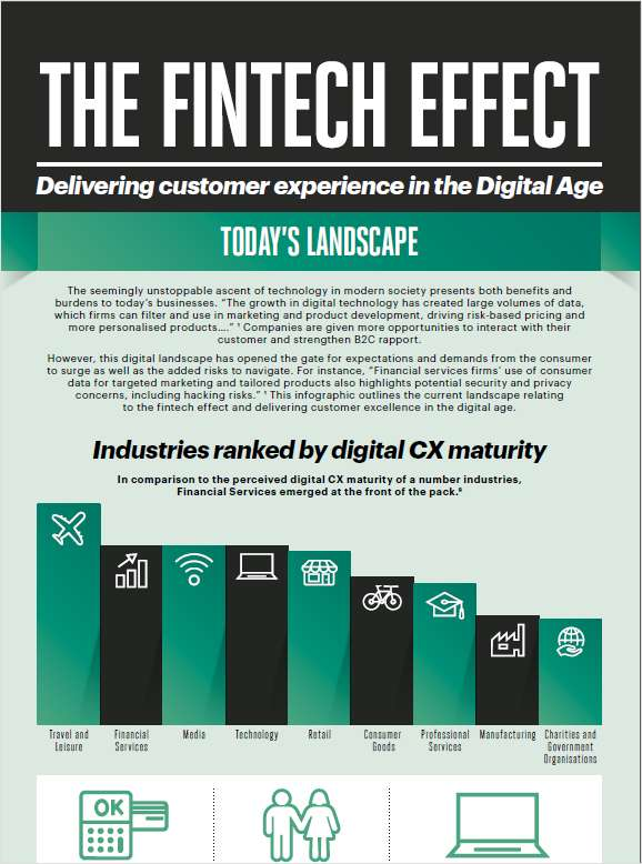 The Fintech Effect- Delivering Customer Experience in the Digital Age