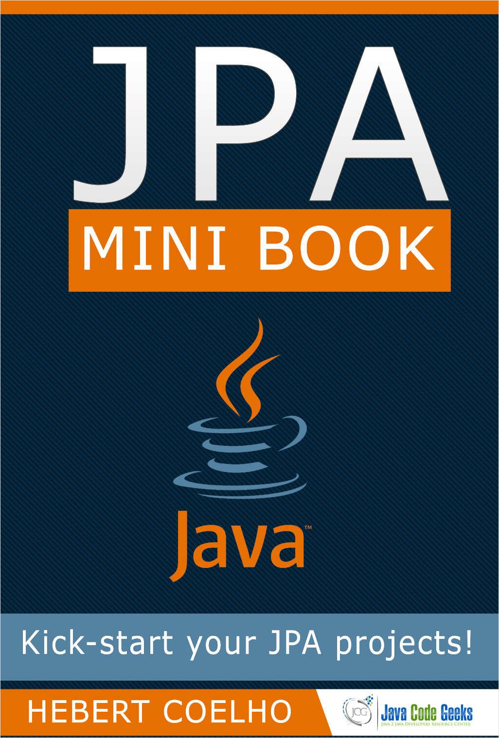 JPA Mini Book