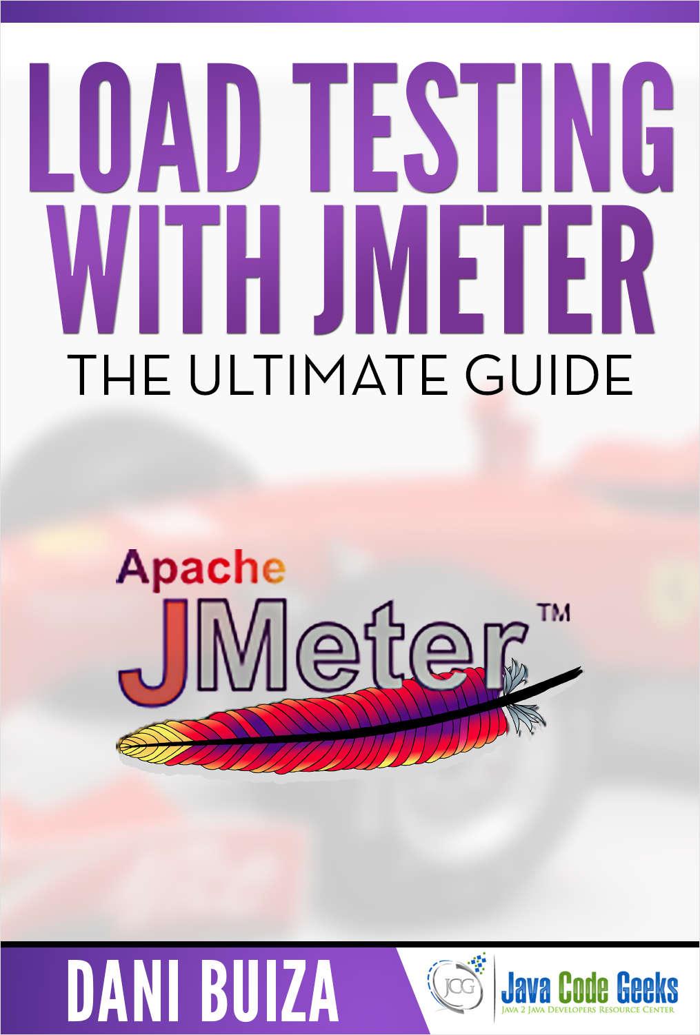 Jmeter tutorial free java code geeks guide baditri Gallery