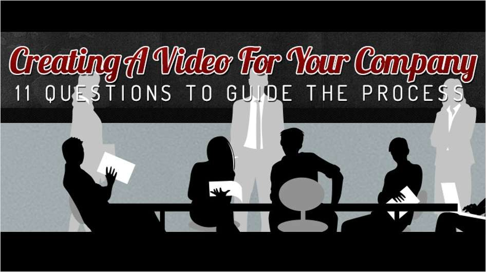 Creating a Video for Your Company - 11 Questions to Guide the Process